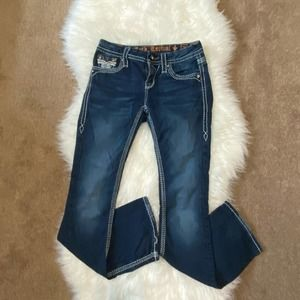 Rock revival blue jeans size 26 style Betty
